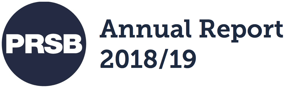PRSB annual report 2018/19