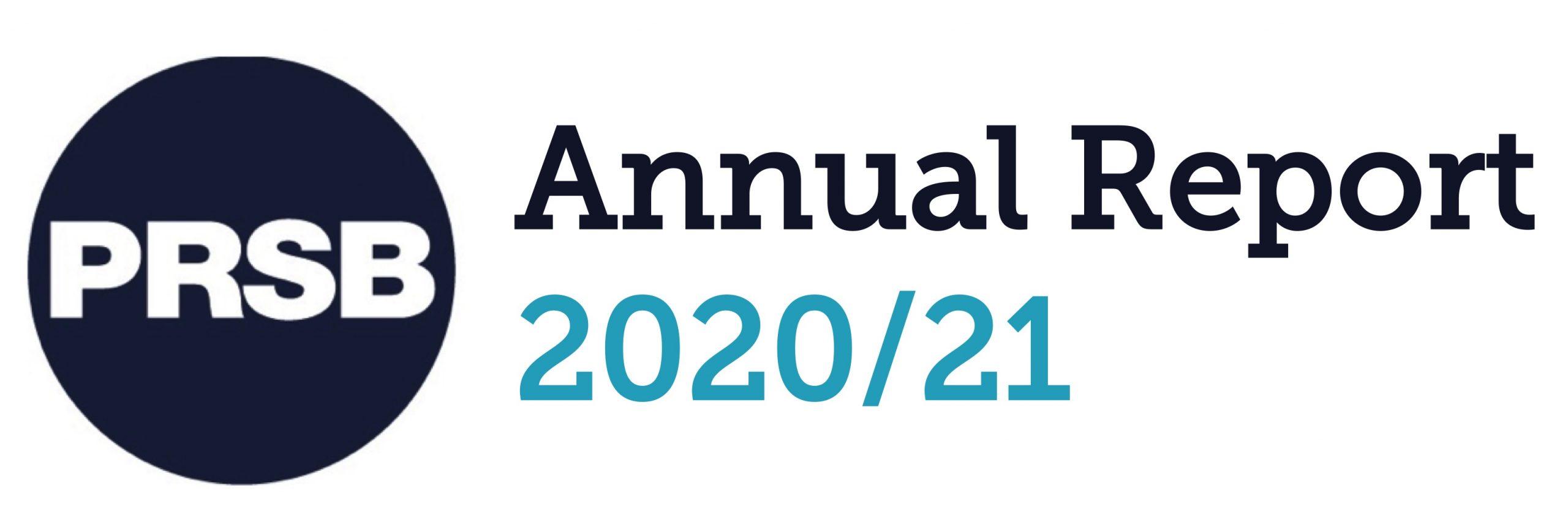 PRSB annual report 2020-21